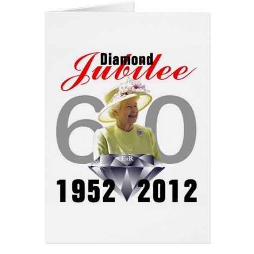 Diamond Jubilee 1952-2012 Card
