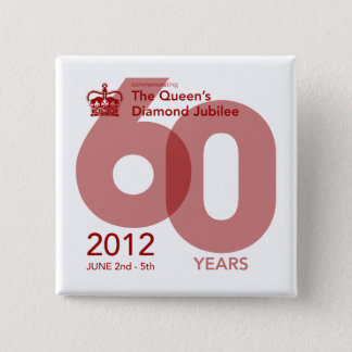 Diamond Jubilee Commemorative Button [Block]