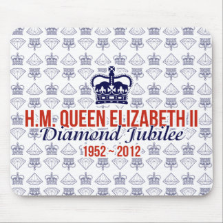 Diamond Jubilee Commemorative Mousemat Mouse Pad