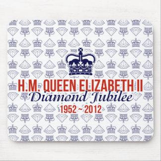 Diamond Jubilee Commemorative Mousemat Mouse Pad