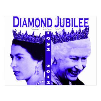Diamond Jubilee commemorative postcard