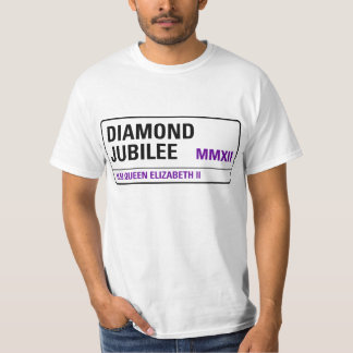 Diamond Jubilee Commemorative T-Shirt [Streetsign]