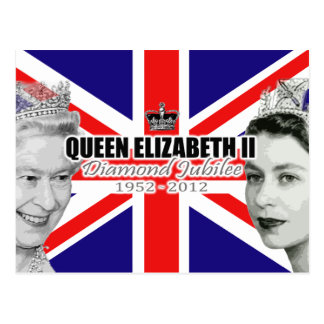Diamond Jubilee Postcard