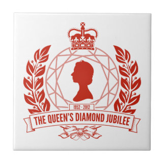 Diamond Jubilee Souvenir Tile [Facet]