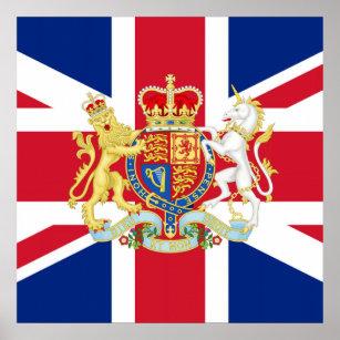 British Flag Art Amp Wall D 233 Cor Zazzle Ca