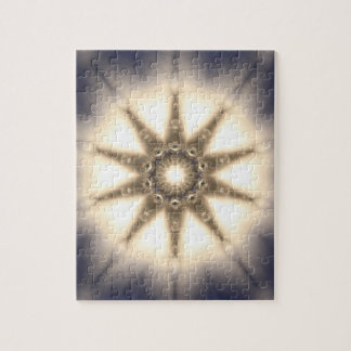 Diamond Light Mandala Jigsaw Puzzle