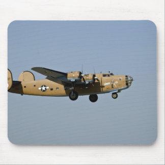 Diamond Lil B-24 Bomber, landing at Oshkosh, Mouse Pad