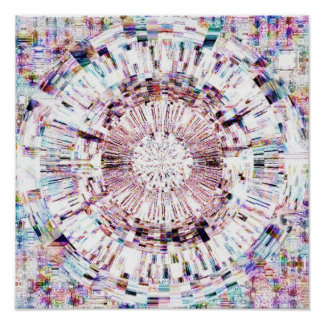 Diamond Mandala 1.1 Poster