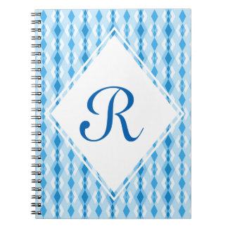 Diamond Monogram Notebook