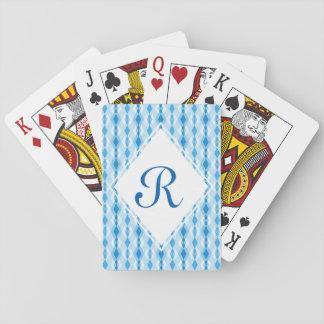 Diamond Monogram Playing Cards
