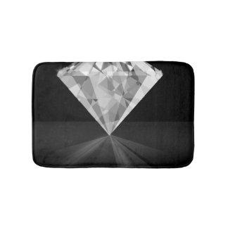 Diamond On Back Bath Mat