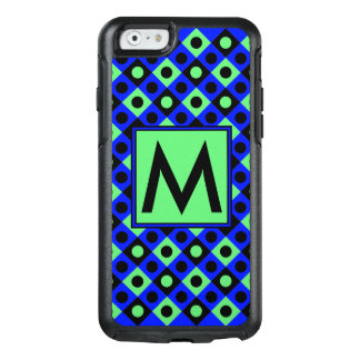 Diamond Pattern #115 Monogrammed OtterBox iPhone 6/6s Case