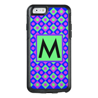Diamond Pattern #117 Monogrammed OtterBox iPhone 6/6s Case
