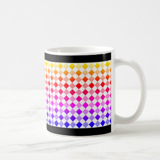 Diamond Pattern #1-4 Coffee Mug