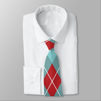 Diamond Pattern Design Tie