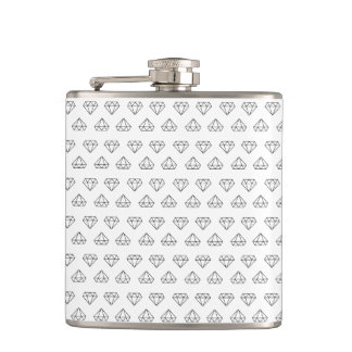Diamond Pattern Flask
