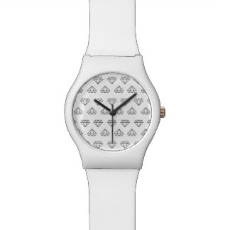 Diamond Pattern May28th Wristwatch