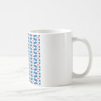 Diamond Pattern Mugs