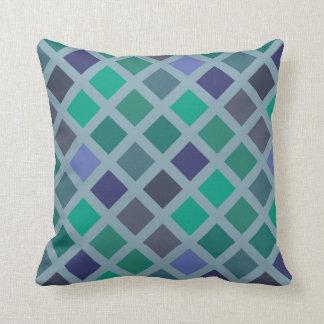 Diamond Pattern Throw Pillow