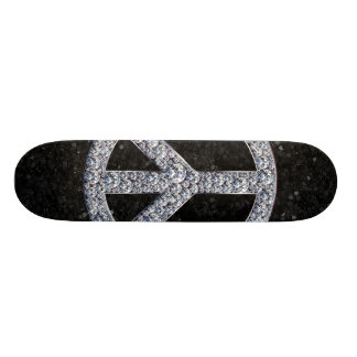 Diamond Peace Sign Skateboard