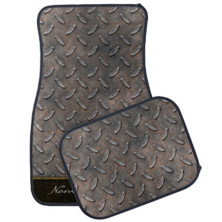 Diamond Plate 5A-5B Options Car Carpet