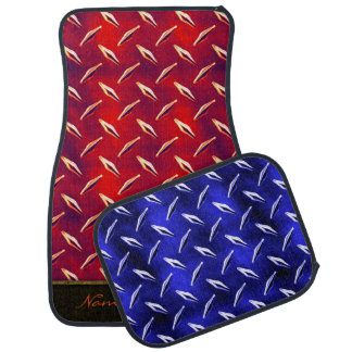 Diamond Plate 7A-7D Options Floor Mat