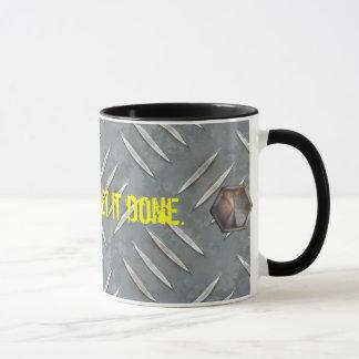 Diamond Plate Coffee Mug