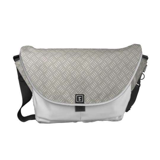 Diamond Plate Courier Bag