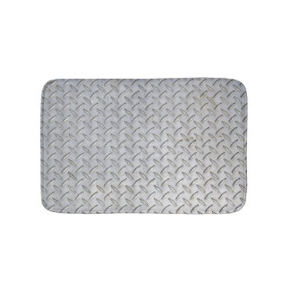 Diamond Plate Design Bath Mat