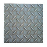 Diamond Plate Steel Ceramic Tiles
