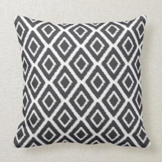 Diamond Print Ikat Pillow