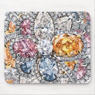 Diamond Puakenikeni Mousepad by Richard Calderon