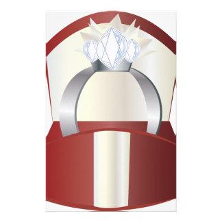 Diamond Ring Stationery