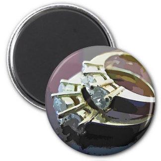 Diamond Rings Magnet