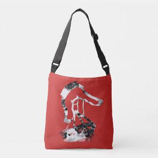 Diamond Rose Cross Body Bag