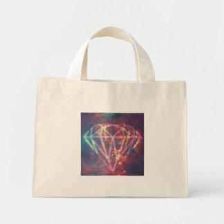 Diamond Sky Galaxy Mini Tote Bag