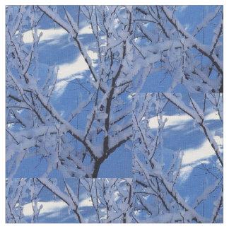 Diamond Snow Fabric