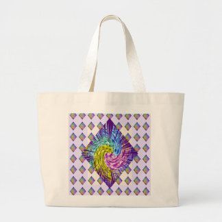 DIAMOND Sparkle Pattern Jumbo Tote Bag