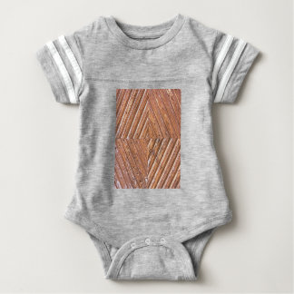 Diamond texture baby bodysuit
