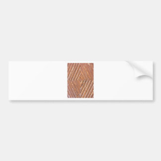 Diamond texture bumper sticker