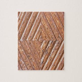 Diamond texture jigsaw puzzle