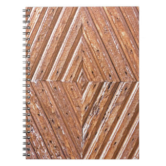 Diamond texture notebook