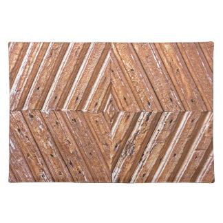 Diamond texture placemat
