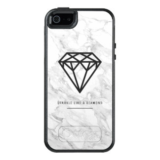 Diamond with Marble OtterBox iPhone 5/5s/SE Case