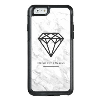 Diamond with Marble OtterBox iPhone 6/6s Case