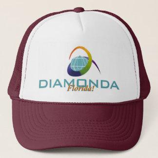DiamondaFloridaLogo for T-shirt.jpg Trucker Hat