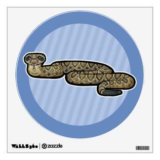 Diamondback Rattlesnake Wall Sticker