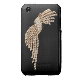 Diamonds and Gold Tassel Blackberry Curve Case-Mat iPhone 3 Case