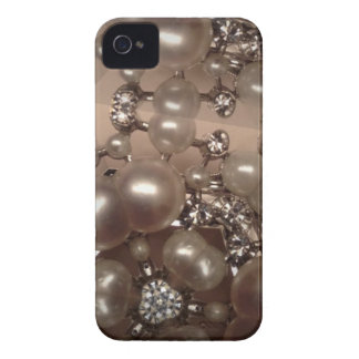 Diamonds and pearls iPhone 4 Case-Mate cases