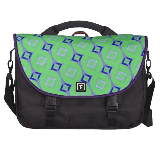 Diamonds and Stripes Commuter Bag